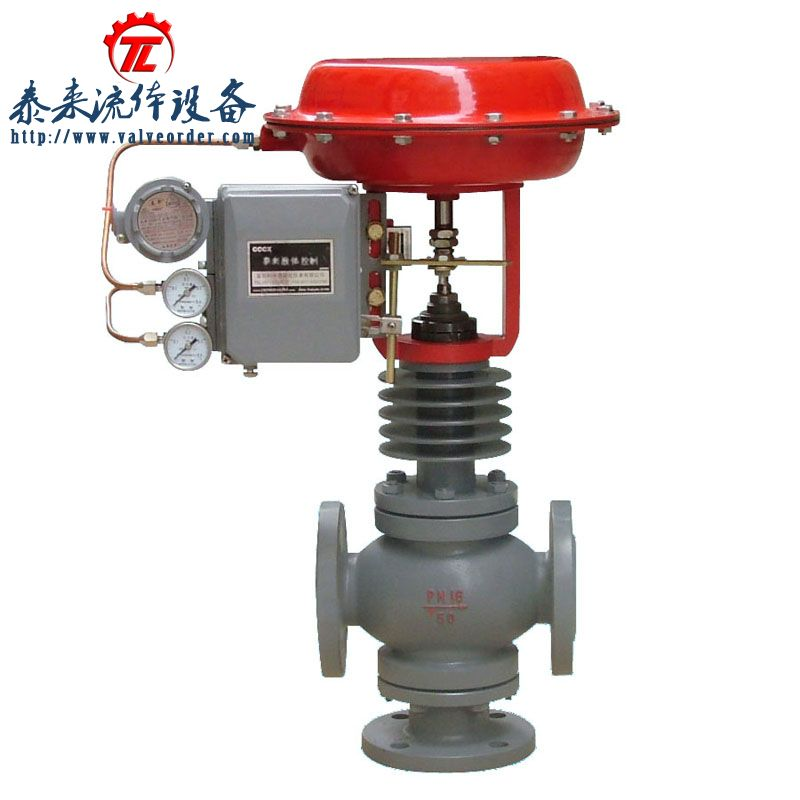ZXX(Q)S气动薄膜高温散热型三通调节阀